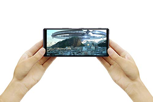 """Sony Xperia 5 Bundle, 6.1"""" FHD+ HDR OLED 21:9 Display, 6GB RAM, 128GB Speicher, Blau + WF-1000XM3 True Wireless Noise Cancelling Kopfhörer, Schwarz"""