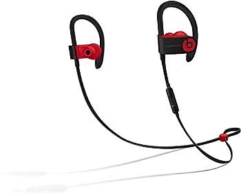 Powerbeats3 Wireless Earphones - Apple W1 Headphone Chip Class 1 Bluetooth 12 Hours of Listening Time Sweat Resistant Earbuds - Defiant Black-Red
