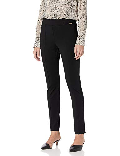 Calvin Klein Women's Modern Essential Legging Jean, Black, X-Large