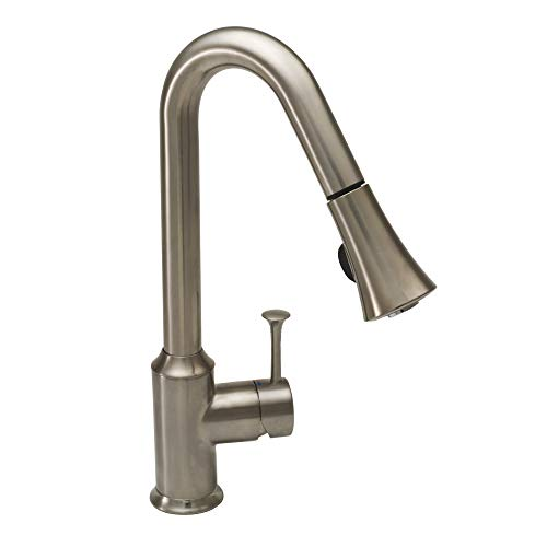 American Standard 4332300.075 Pekoe 2.2 GPM Pull-Down Kitchen Faucet, 26.8 X 14.3 X 3.5, Stainless Steel