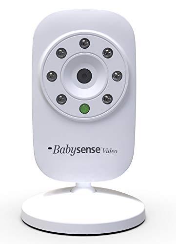 BabySense Zusätzliche Kameraeinheit für Video Baby Monitor V24UK - Lieferung mit UK-Stecker und EU-Adapter (Modell: CAM-V24UK)