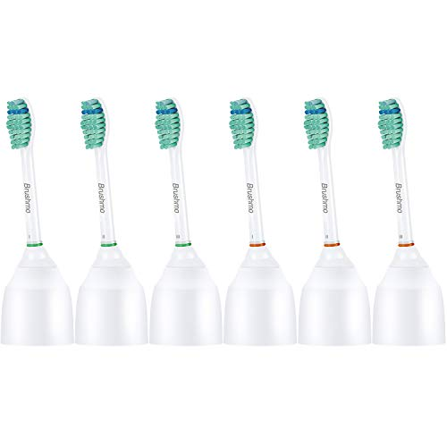 Brushmo Replacement Toothbrush Heads Compatible with Sonicare e-Series...