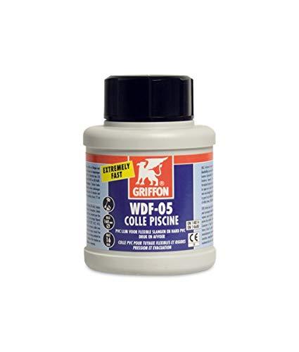 GRIFFON Wet Dry and Fast Wdf-05 Schnellgreifbeton für Schwimmbäder, Whirlpools, ABS, PVC und Rohre, 250 ml