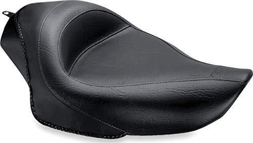 Mustang 76157 Standard Touring Solo Motorcycle Seat, for Harley-Davidson Sportster 2004-18, Black