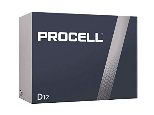 DURACELL New Mega Size Package D12 PROCELL Professional Alkaline Battery 24 Count Value Pack (Packaging May Vary)