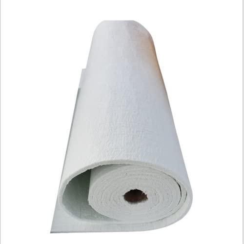 LIAODEHENA Material De Aislamiento De Tuberías, Manta De Aislamiento Ignífuga De Fibra De Vidrio Rota, Conductos De Aire Radiadores HVAC Garajes,10mm