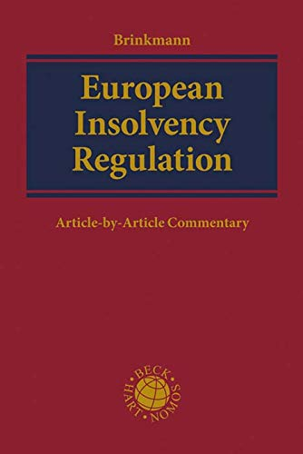 European Insolvency Regulation: Article-by-Article Commentary