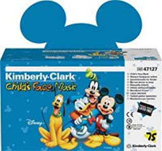 Kimberly Clark Healthcare 32856 Face Mask With Earloop Child Disney 75/Bx