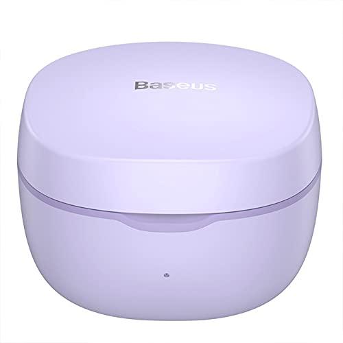 NCHEN Senza Fili,Bluetooth Chip per Cuffie Cuffie,Auricolari con Chiaro Suono RIDUZIONE del Rumore,con Stereo IPX4 Waterproof per Lavoro Sport-Porpora