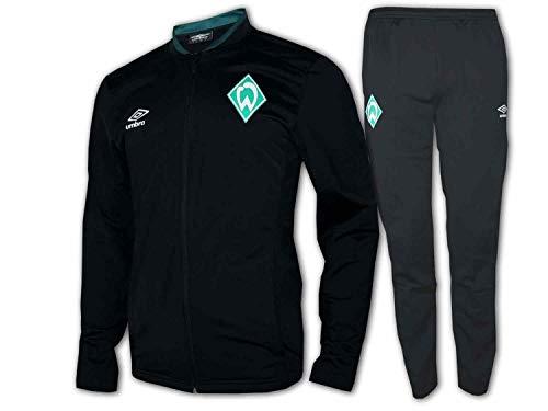Umbro 2019-2020 Werder Bremen gebreide trainingspak (zwart)
