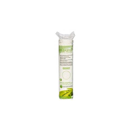 MASMI NATURAL COTTON Bio Kosmetikpads, 80 Stück