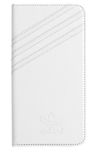 Adidas Basics Premium libro de Carcasa para iPhone 6 Plus - blanco