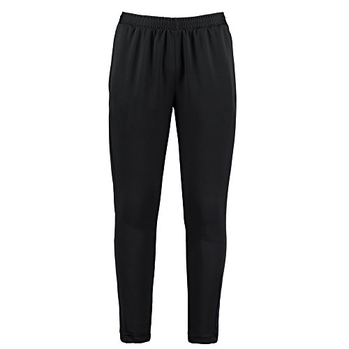 KUSTOM KIT Slim Fit Track Pant, Pantalon de Sport Homme, Noir (Black KK971-BLK-MED), W32