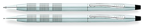 Cross Century Classic cromo satinado bolígrafo / lápiz 0.7mm Set