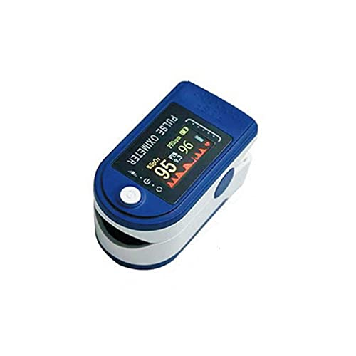 JUYIXIAN Oximetro Dedo Con Saturacion Oxigeno Medidor De En Sangre Oxigenometro Aparato Para Medir SaturacióN Pulxiometro Saturador Oxiometros Profesional Pulsioximetro Azul (versión Bluetooth)