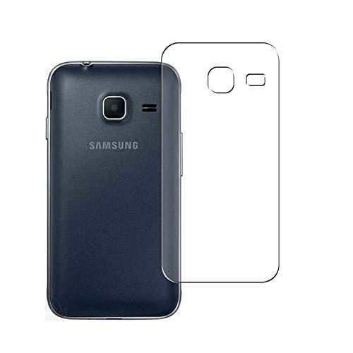 Vaxson 2 Unidades Protector de pantalla Posterior, compatible con Samsung Galaxy J1 Mini / J1 Mini prime SM-J105DS [No Vidrio Templado] TPU Película Protectora Espalda Skin Cover