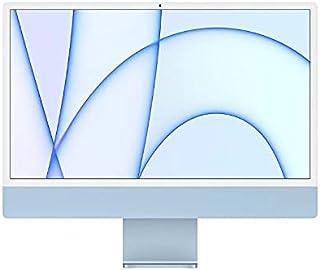 """Imac Apple 24"""" com Tela Retina 4.5k, Processador M1, 8 Núcleos, Azul, Ssd 256gb, 8gb - Mgpk3bz/a"""