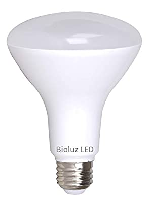 Bioluz LED BR30 LED Bulb, 90 CRI Dimmable BR30 Bulb, 800 Lumen 65W-95W Replacement Indoor/Outdoor LED Flood Light Bulb UL-Listed