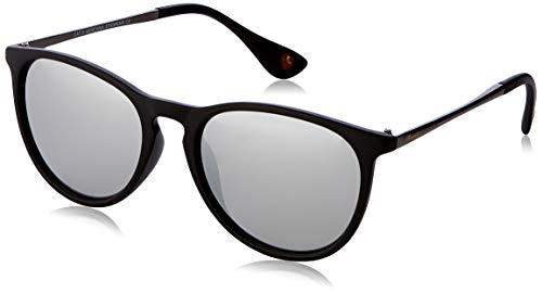 Sunoptic Unisex - Adulto Montana Occhiali da sole, Nero (Black/Revo Silver),