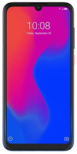 ZTE Smartphone Blade A7 (15.46 cm (6,08 Zoll) HD+ Display, 4G LTE, 2GB RAM und 32 GB interner Speicher, 16 MP Hauptkamera und 8 MP Frontkamera, Dual-SIM, Android 9) Gradient Schwarz