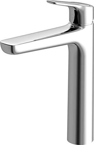TOTO TLG03303U#CP Gs 1.2 GPM Single Handle Semi Vessel Bathroom Sink Faucet, Polished Chrome