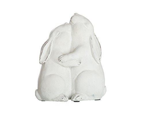 Gilde Décoration de Pâques Traditionnelle en polyrésine Blanc