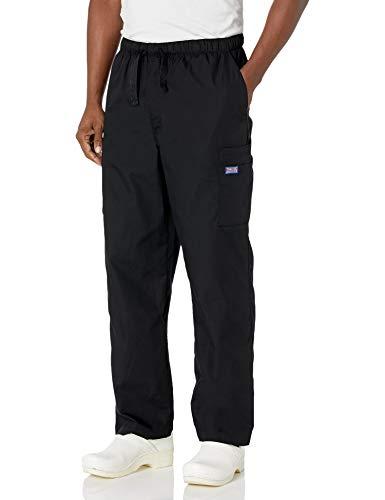Cherokee Men's Big and Tall Originals Cargo Scrubs Pant, Black, XXXXX-Large