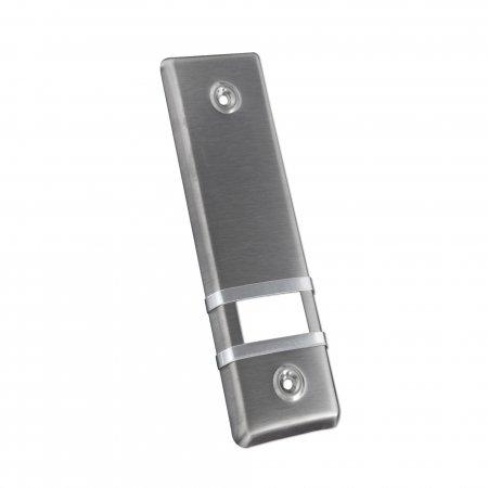 JAROLIFT Design Edelstahl-Abdeckplatte für Gurtwickler/LA: 185mm / edelstahl