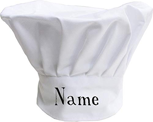 Personalised Chef Hat – Novelty, Funny Customised Chef's Hats for Men, Women and Children - Adult