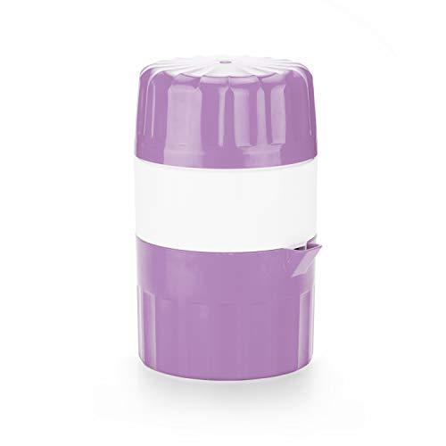 Saftpresse für frische, vitaminreiche Obst- und Gemüsesäfte - BPA frei… (Violett)