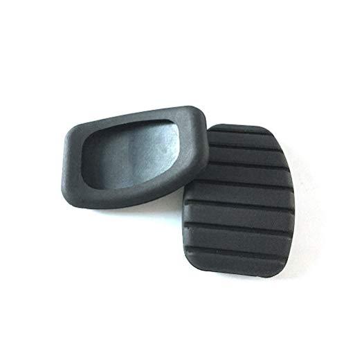 LIOOBO Copri-Pad in Gomma Frizione e Freno per Renault Megane Laguna Clio Kango Scenic CCY (Nero)