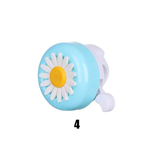 ZYR Kids Funny Bicycle Bell Horns Bike Daisy Flower Children Girls Cycling Ring Alarm for Handlebars Multi-color,4