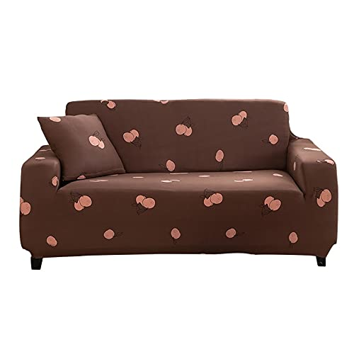 WXQY Funda de sofá elástica para Sala de Estar, Funda de sofá combinada, cojín, Funda Protectora para Muebles, Funda de sofá Antideslizante A25, 4 plazas