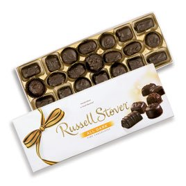 Dark Chocolate Assortment, 12 oz. Box
