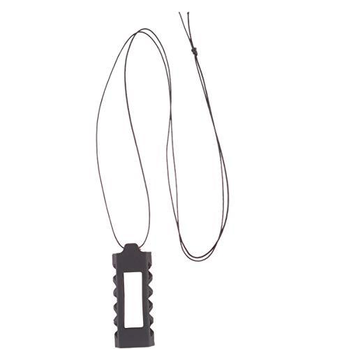 Hemobllo Fitbit Alta Necklace Silicone Holder Smart Watch Wristband Pendant Holder Compatible for Fitbit Alta Fitbit Alta Hr