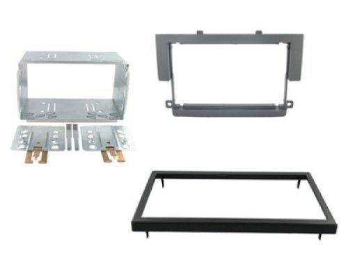 Einbauset : Autoradio Doppel-DIN Blende / Radioblende 2-DIN für Mitsubishi Colt CZ3 ab 2006-2009