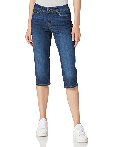 MUSTANG Damen Jasmin Capri Jeans, Mittelblau, 30W Short