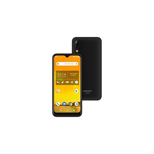 Portable - Smartphone - Téléphone Portable - Logicom Le Connect Smartphone débloqué 4G avec Data Intégrée et Offerte (Écran: 5,45 Pouces - 32 Go - Double Nano Sim - Android 9) Noir