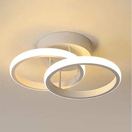 Plafoniera LED, Lampadario a soffitto a LED, 22W, Bianco Caldo 6000K, Lampadario a sospensione, Lampadari a soffitto chic in moderno Illuminazione per camera da letto Soggiorno Cucina