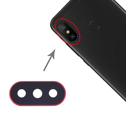 un known Reemplazo de la Vieja continúan utilizando 10 PCS Tapa de la Lente de la cámara for Xiaomi redmi 6 Pro/MI A2 Lite Accesorios (Size : Sp2381r)