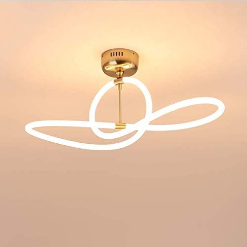 okuya Cocina Lámpara de cocina 50w 4000lm Lámpara blanca cálida Lámpara Luz Luz de techo Dormitorio, Lámpara de techo de la sala de estar moderna, Lámpara de la habitación, Lámpara de la Luz de Techo