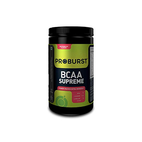 Proburst BCAA Supreme |Supplement For Pre , Post or Intra Workout 400 gm - Watermelon