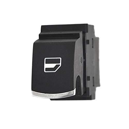 Accesorios de reemplazo del botón de la ventana del coche ajuste directo interruptor duradero instalación Interior 6RD959855C