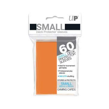 UltraPro デックプロテクターソリッド スリーブ 橙オレンジOrange 60枚入 ミニサイズ 89×62mm