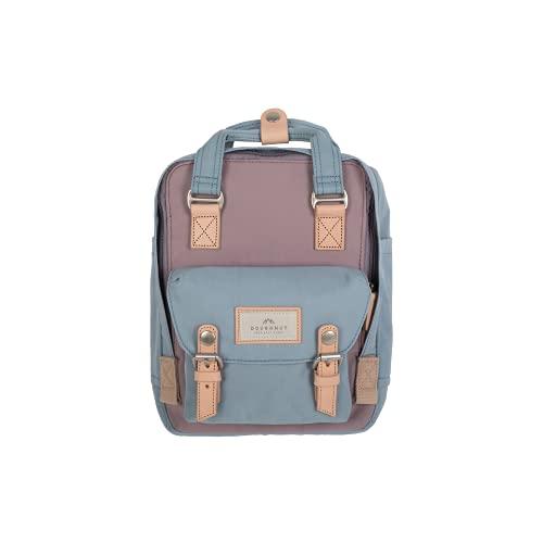 Doughnut - Macaroon Mini - Mochila para Portátil - 30 x 21,5 x 9 cm - Color Lilac & Light Blue - Capacidad de 7 litros - Mochila de Hombre - Bolsillo Exterior - Mochila de Mujer