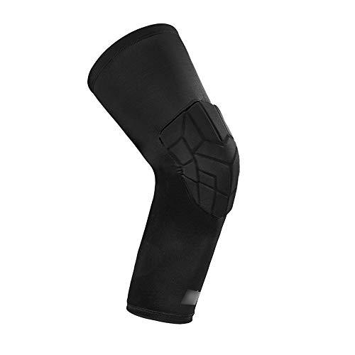 Basketbal kniebeschermer voor basketbal, complete set, sportkleuren, beenbescherming voor mannen, kniebeschermers voor vrouwen en mannen, lange Panty Ant