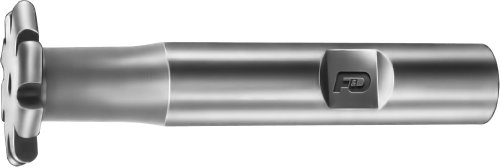 F&D Tool Company 12454-C604 Convex Shank Type Cutters, Form Relieved, High Speed Steel, 1/8