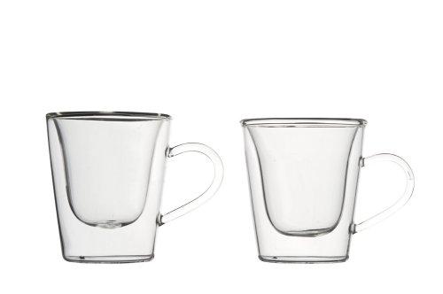 Luigi Bormioli Duo Set di 2 Tazze, 69 x 96 x 81 mm, 2 unità