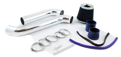 S&T Racing 2.75' Blue Cold Air Intake Kit + Filter 94-02 for Honda Accord 2.2L/2.3L L4