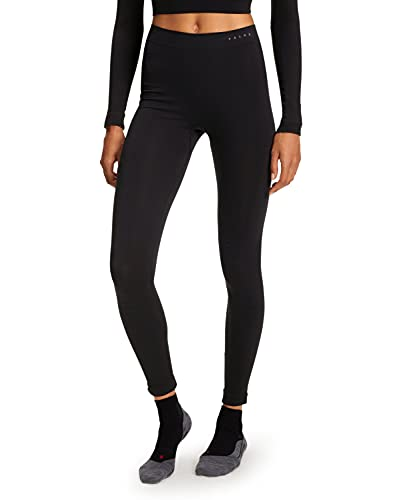 FALKE Damen Tights Warm Long, Sport Performance Material, 1 Stück, Schwarz (Black 3000), Größe: L